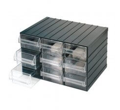 Cutii de scule cu sertare transparente c080